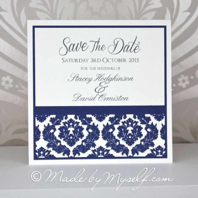 Damask Save The Date